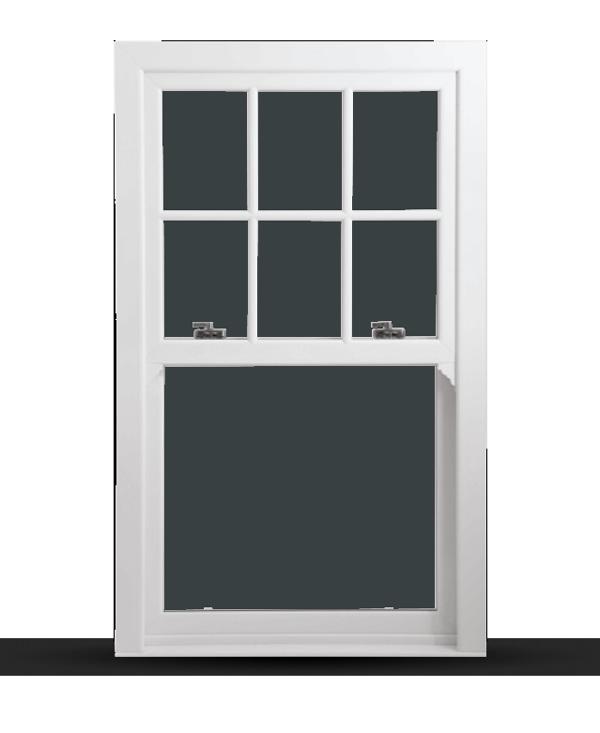 Charisma Rose - uPVC Sliding Sash Windows