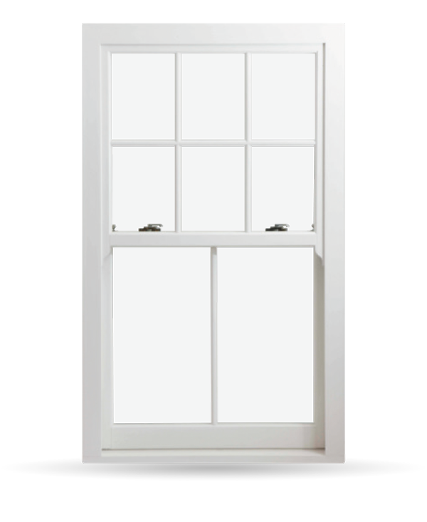 Heritage Rose - uPVC Sliding Sash Windows