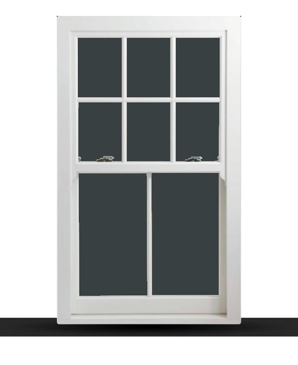 Heritage Rose - uPVC Sliding Sash Windows