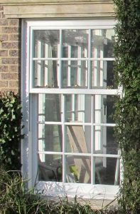 Sash window slim line perfect for heritage sites