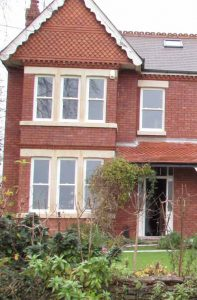 Sash windows installed on large property
