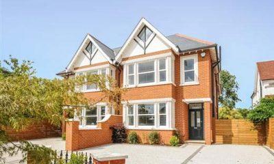 New build property with uPVC sash windows