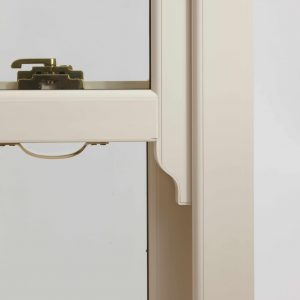 Close of sliding sash window