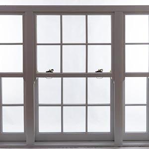 white sash window mullion