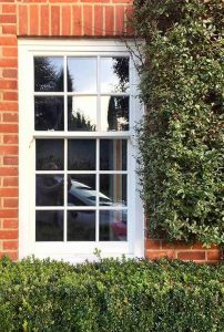 New home sliding sash window